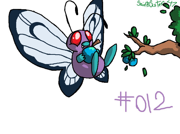 #012 Butterfree by SaintsSister47