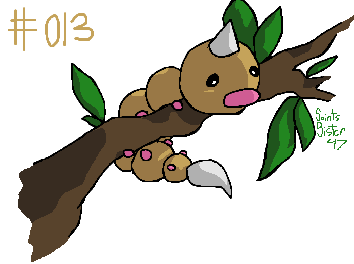 #013 Weedle by SaintsSister47