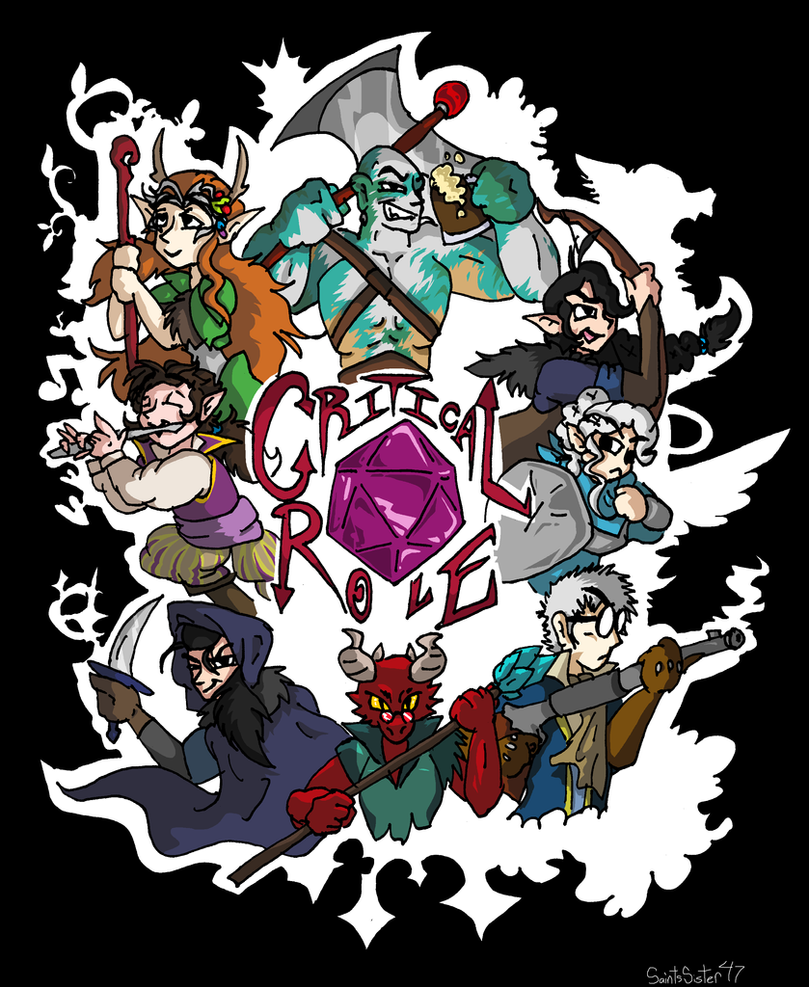 Critical Role by SaintsSister47