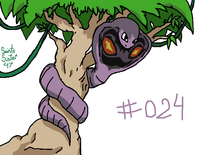 #024 Arbok by SaintsSister47