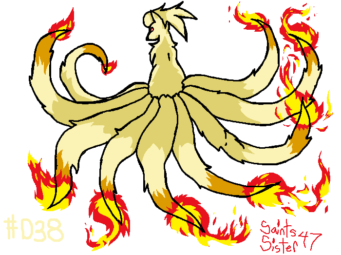 #038 Ninetails by SaintsSister47