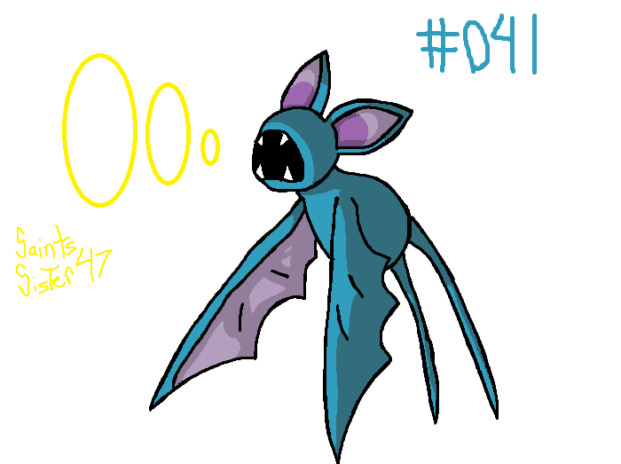 #041 Zubat by SaintsSister47