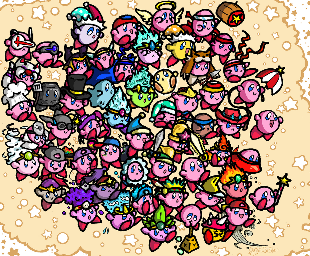 Kirby Parade by SaintsSister47