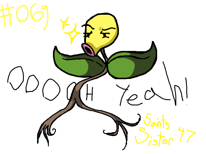 #069 Bellsprout by SaintsSister47