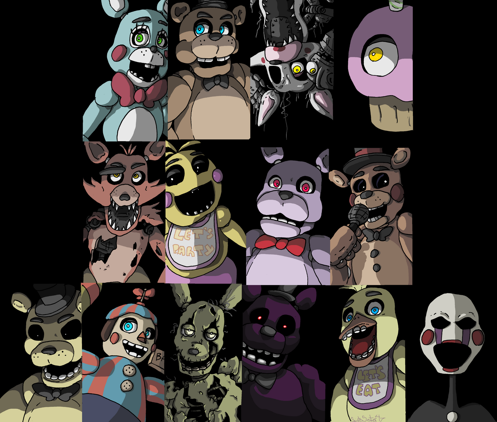 Freddy and Friends by SaintsSister47