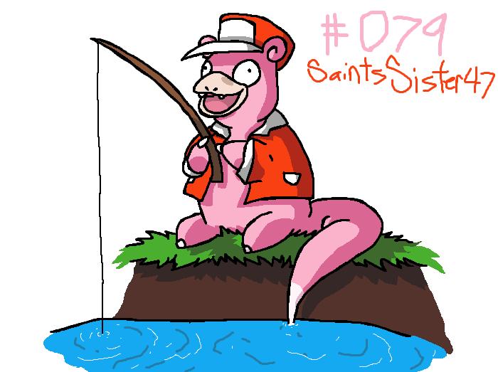 #079 Slowpoke by SaintsSister47