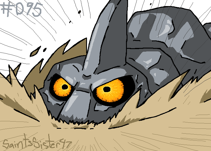 #095 Onix by SaintsSister47