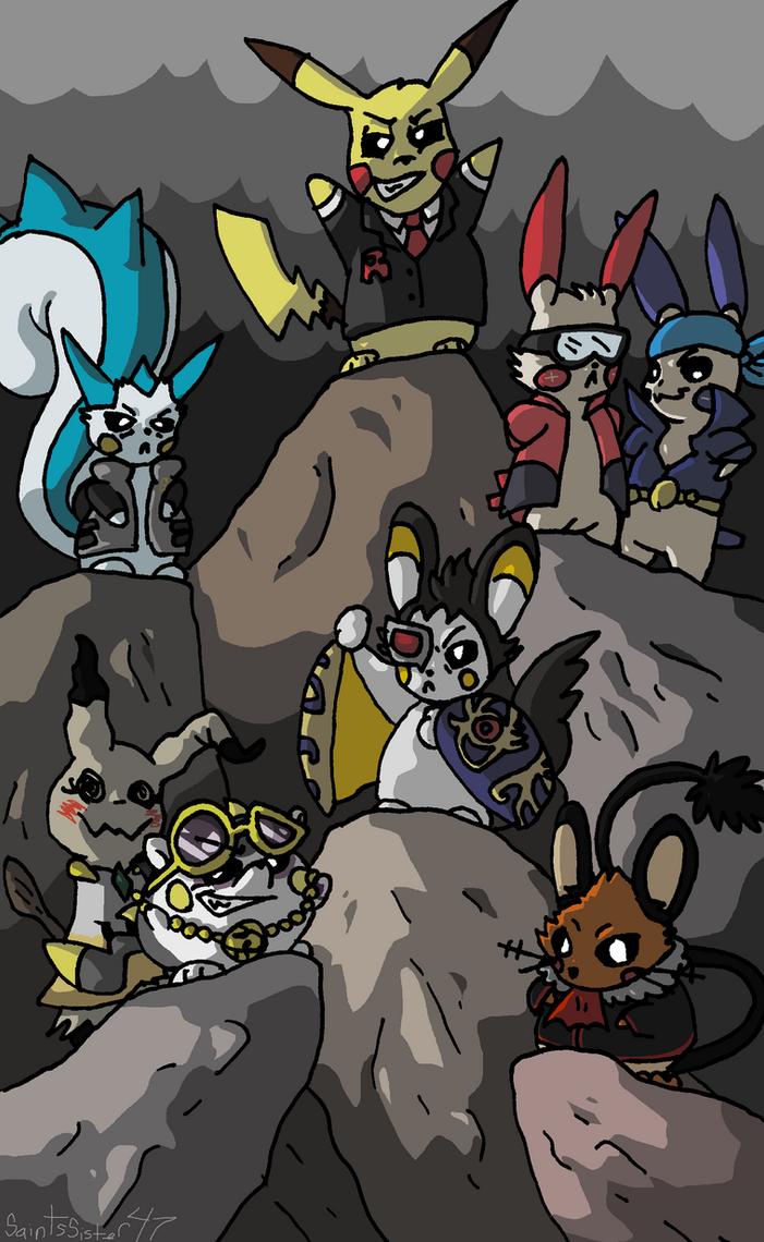 Cute Criminals by SaintsSister47