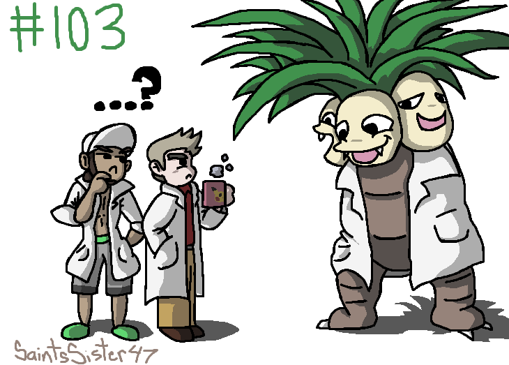 #103 Exeggutor by SaintsSister47