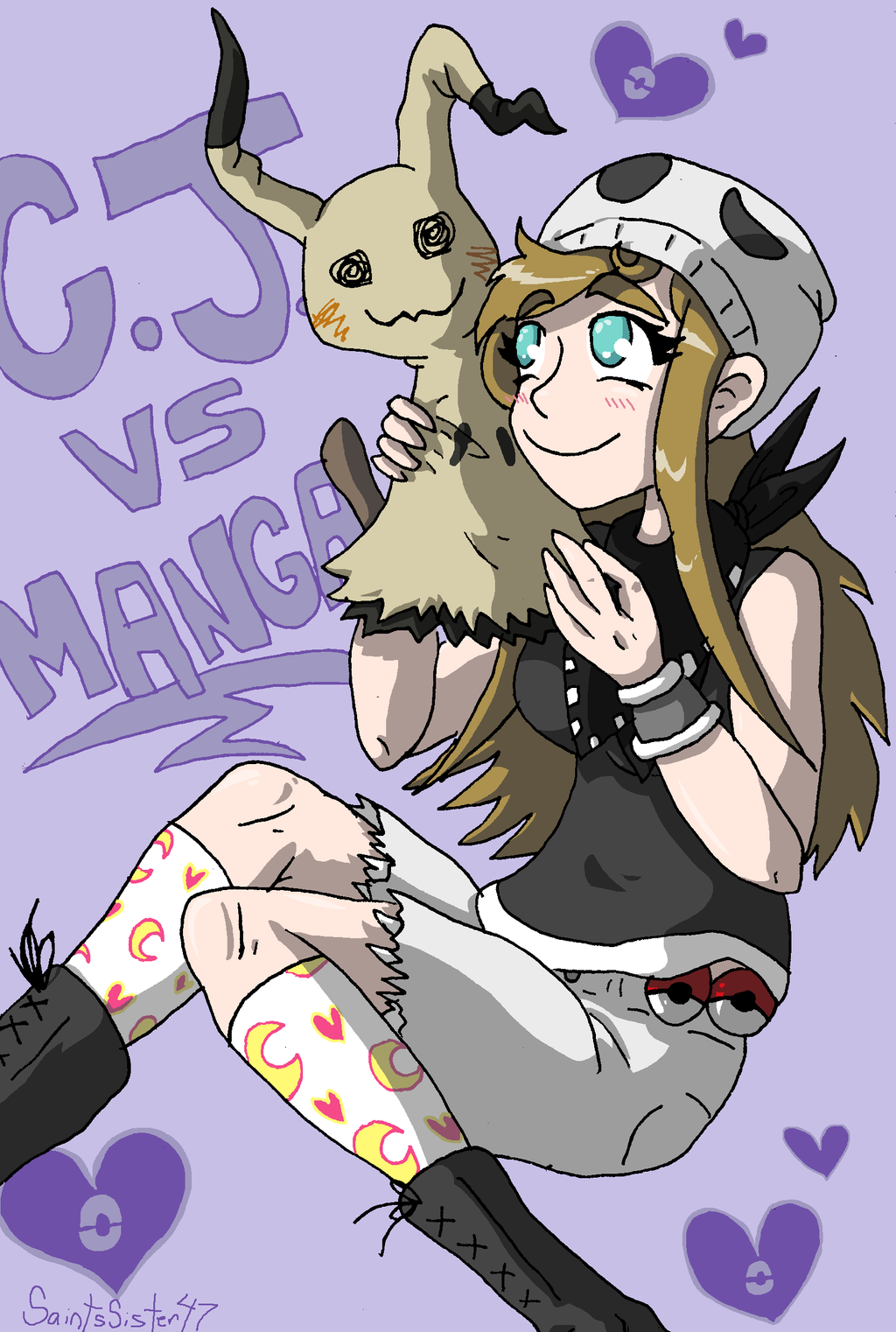Cj VS Manga by SaintsSister47