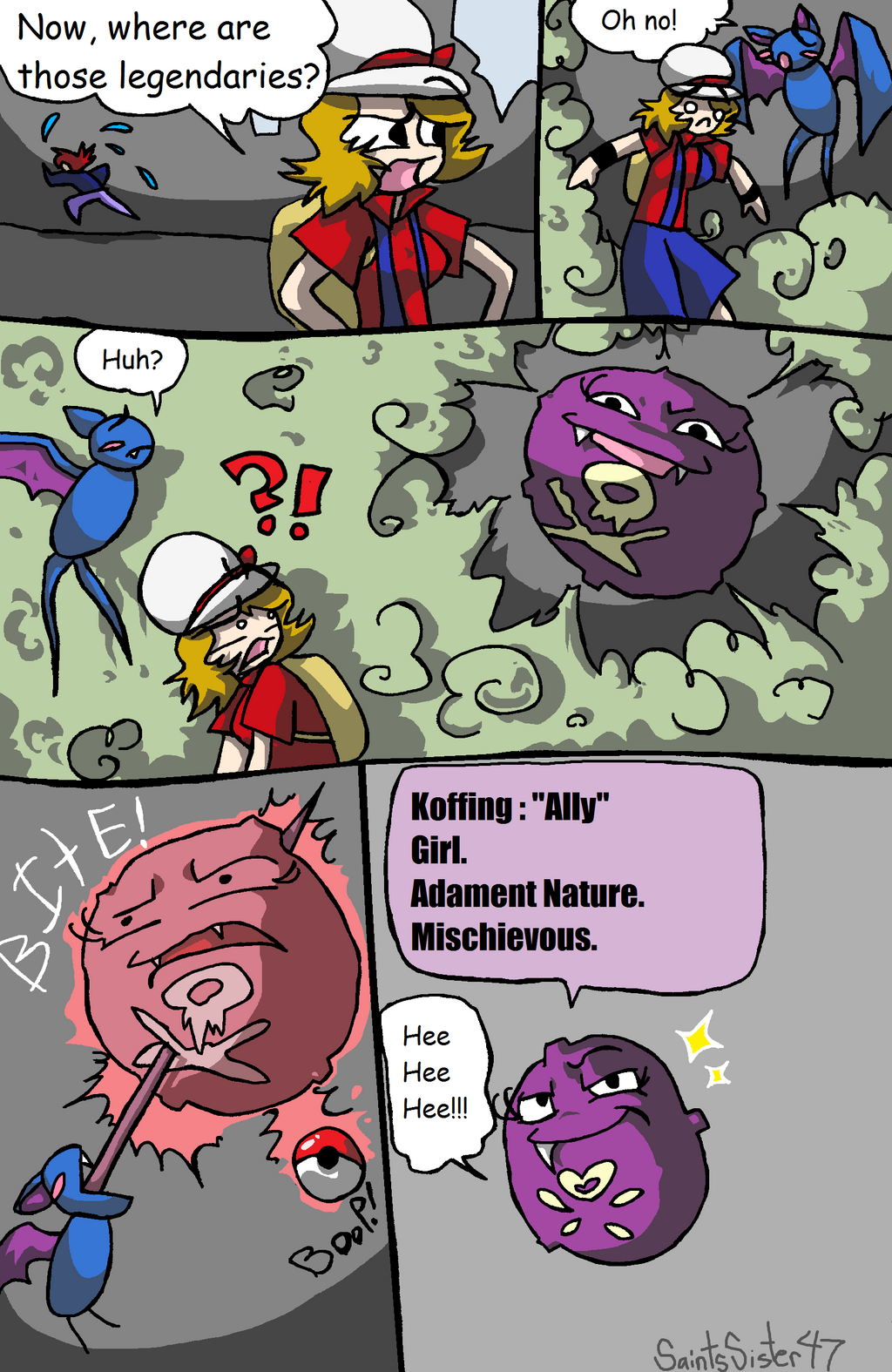 HG Nuzlocke : 108 by SaintsSister47