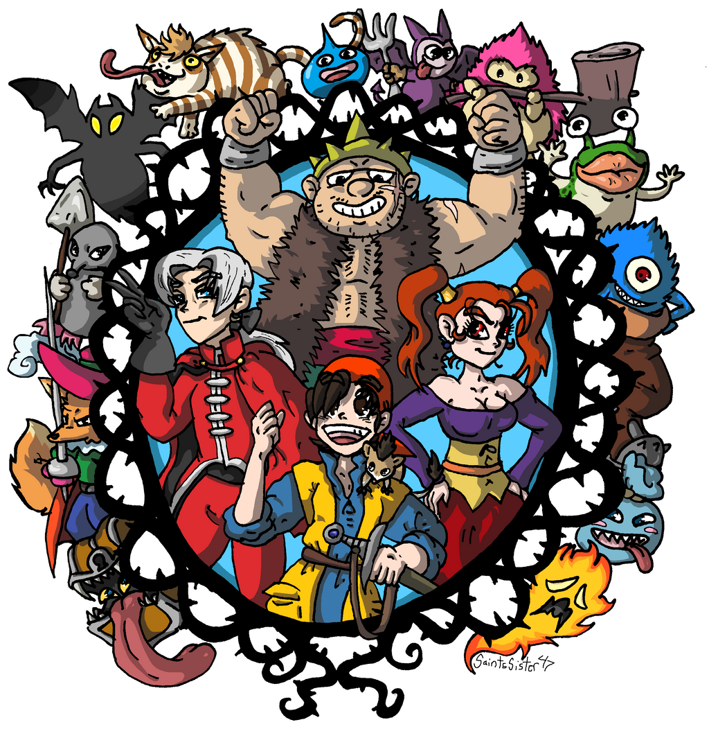 Dragon Quest 8 by SaintsSister47