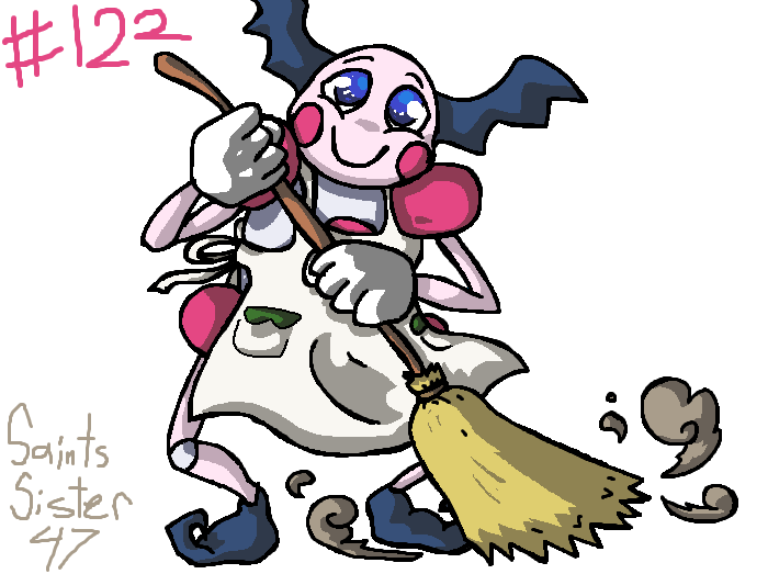 #122 Mr. Mime by SaintsSister47