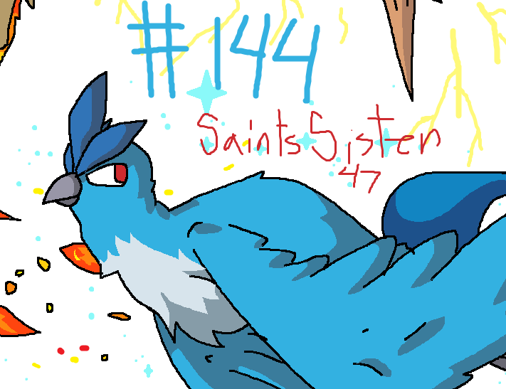 #144 Articuno by SaintsSister47