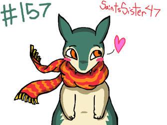 #157 Typholsion by SaintsSister47