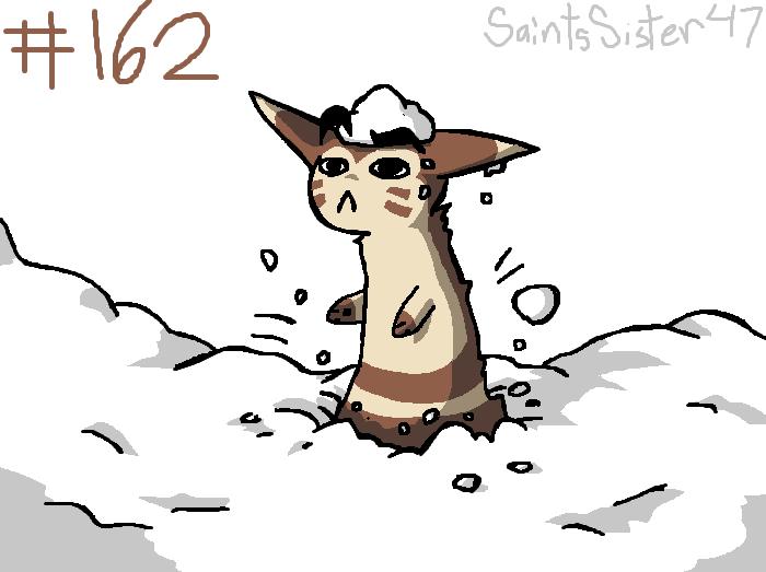 #162 Furret by SaintsSister47