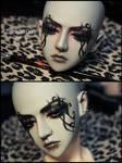 Face-up+tattoos: Spiritdoll Dark