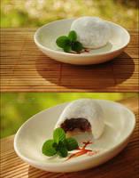 Homemade Daifukumochi by asainemuri