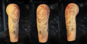 Henna Peacock Tattoo