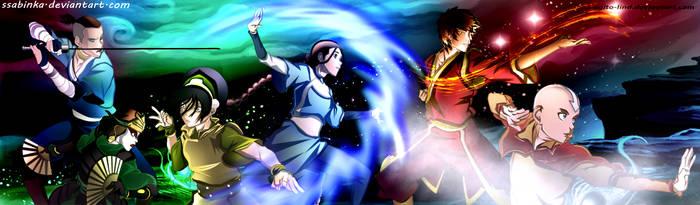 Team Avatar Aang by Ssabinka