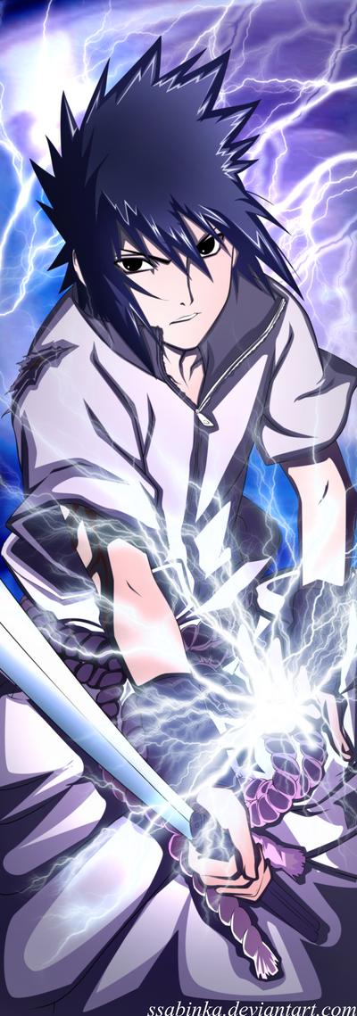 Uchiha Sasuke-My power! by Ssabinka