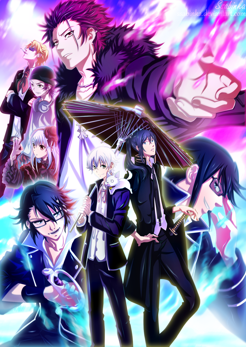 Anime Characters That Start With C : K project favourites by michinekochan on deviantart