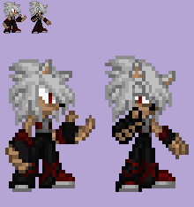 Eric The Aerorian Sprite by LeonTheSnowWolf