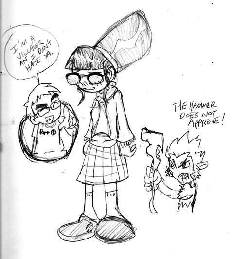 Shelly Sketch by rugdog