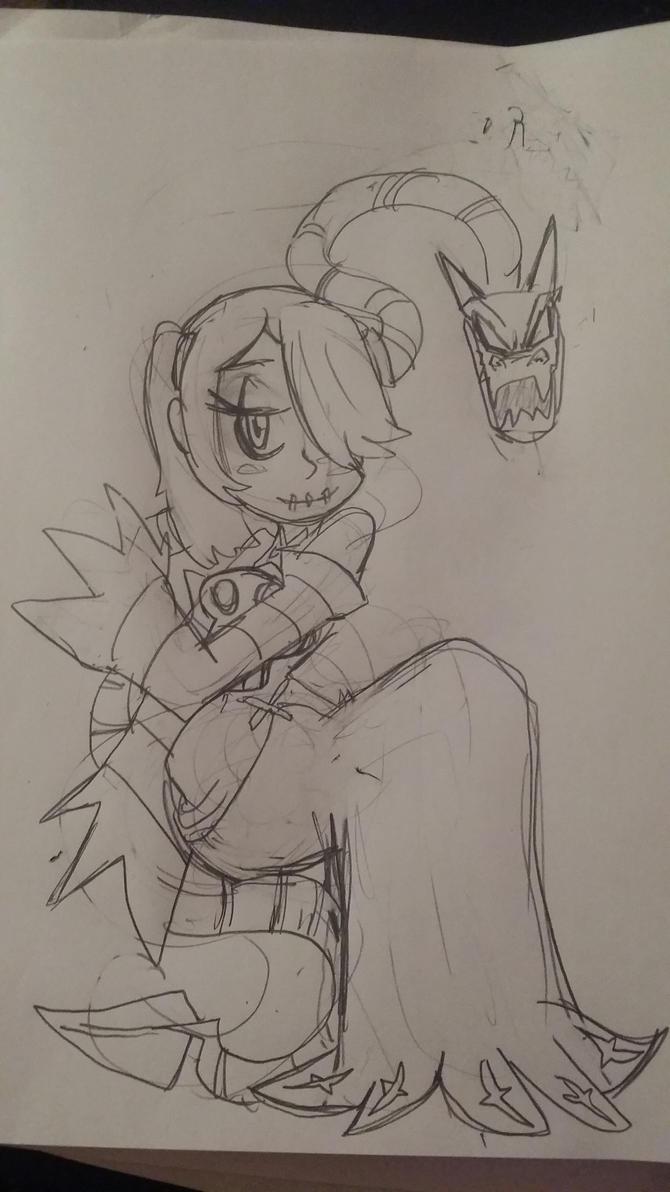 Squigly sketch by rugdog