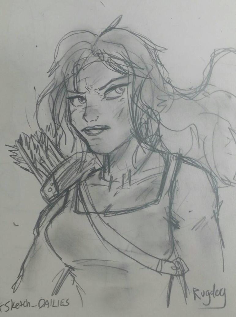 Lara Croft by rugdog