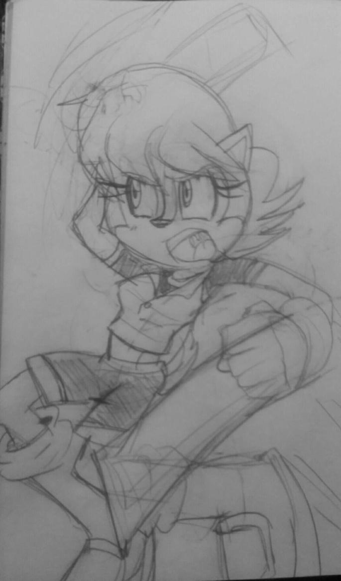 Sally -Jump Attack by rugdog