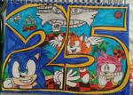 happy 25th Sonic