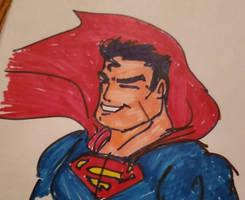 sharpie Superman