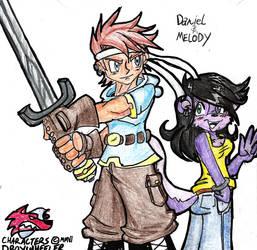 Daniel and Melody by rugdog