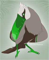 SonieTheDog - Toucan by BongoWolf