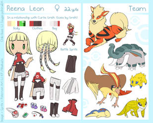 Reena Complex Reference -PKMN Trainer- by BongoWolf