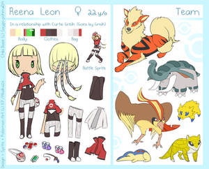 Reena Complex Reference -PKMN Trainer-