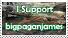 I support bigpaganjames by Tepara
