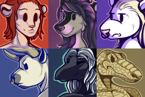 [C] Emoji Portraits