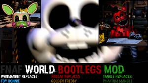 Ultimate Custom Night: FNAF World Bootlegs mod!