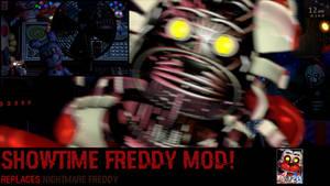 Ultimate Custom Night: Showtime Freddy mod!