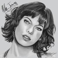 Milla Jovovich by Rising-Phoenix87