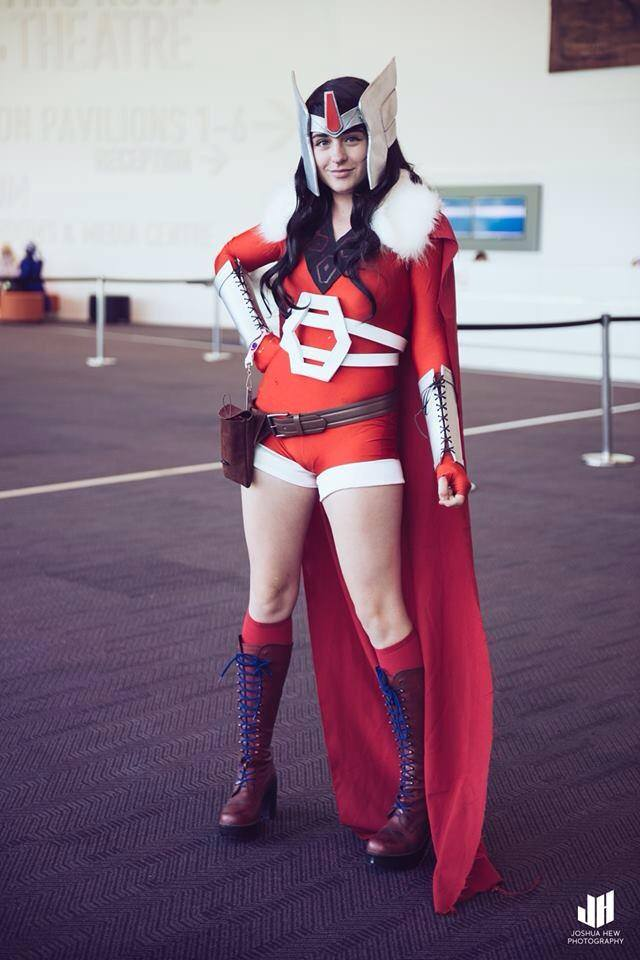 Lady Sif by AstroKerrie