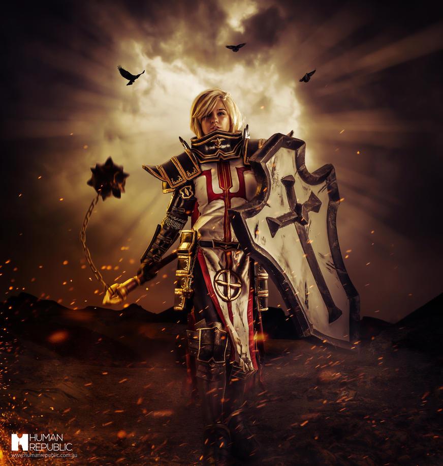 female crusader diablo 3 1 by astrokerrie on deviantart