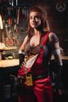Brigitte - Overwatch by AstroKerrie