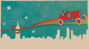 Vintage toy- flying car