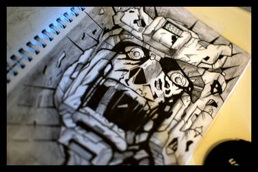 Transfomers Head by bladz56