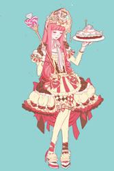 Princess Lolita Bubblegum by vexfay