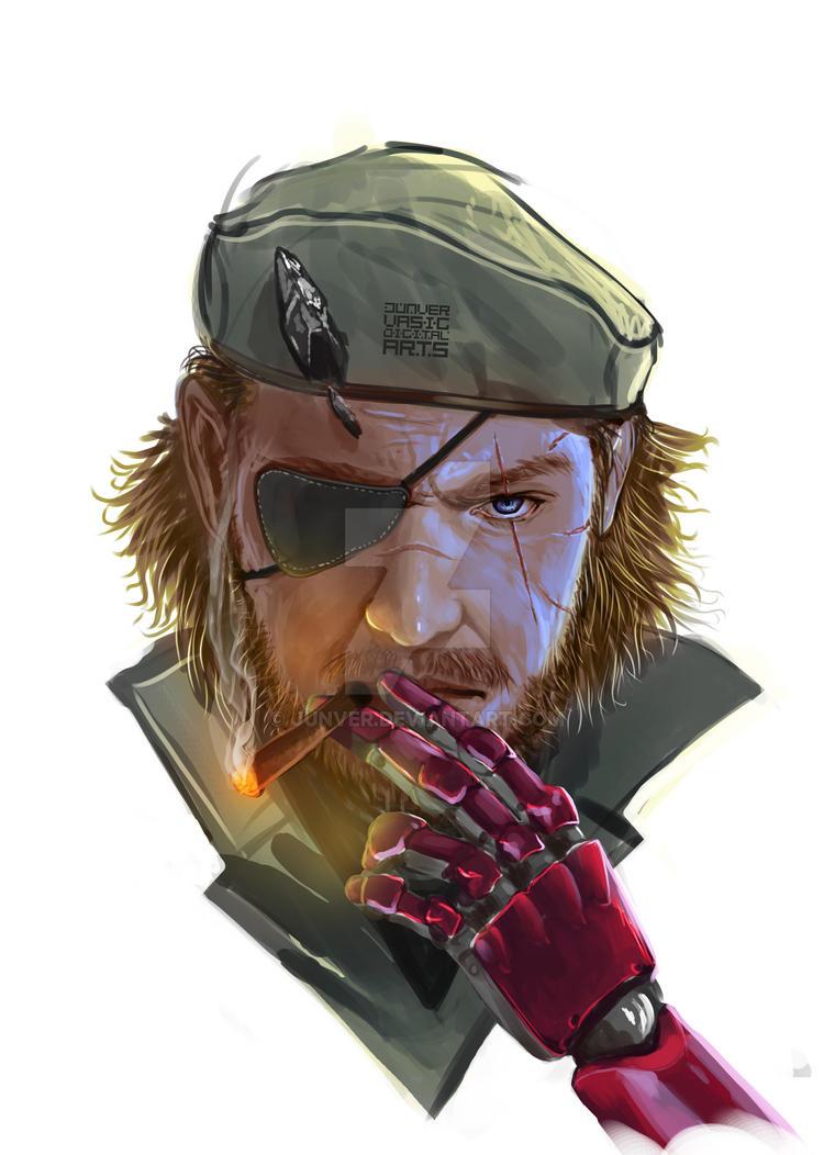 Punished Snake MGSV Phantom Pain by junver
