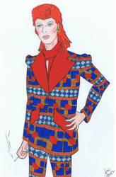 Prismacolor Bowie by HawkeyeVSGirl